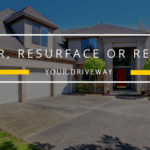 repair or replace your driveway