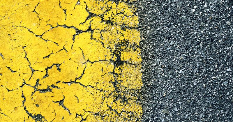 old asphalt